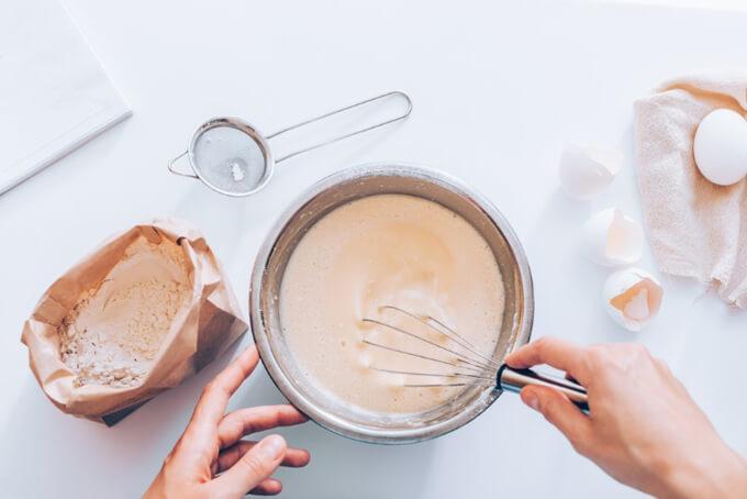 パンケーキの材料