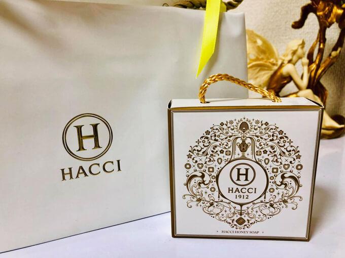 HACCIはちみつ洗顔石鹸
