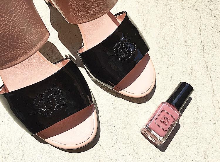 ネイル×靴