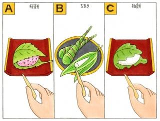【心理テスト】お土産に和菓子をもらいました。あなたは何を選ぶ?