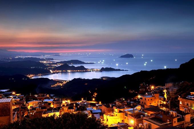 キレイな夜景画像