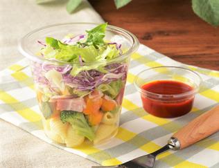 「フレ! フレ! カップサラダ(トマトドレ)」の画像