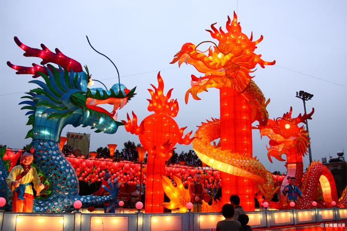 台湾をイメージするランタンフェスの画像