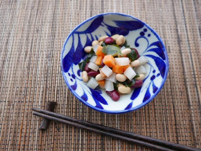 豆サラダのできあがり2