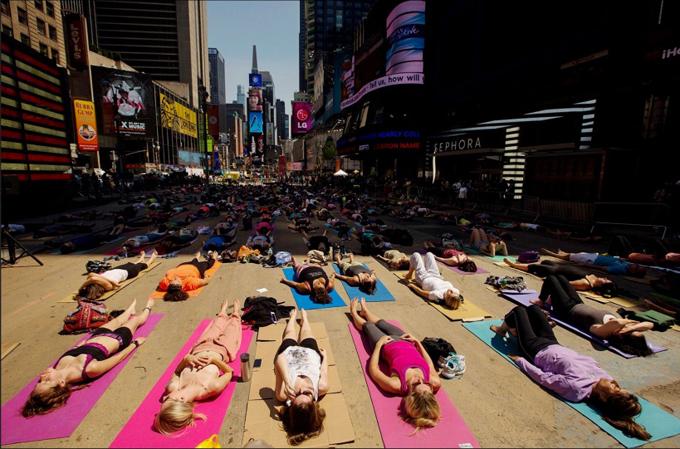 みんなで瞑想!