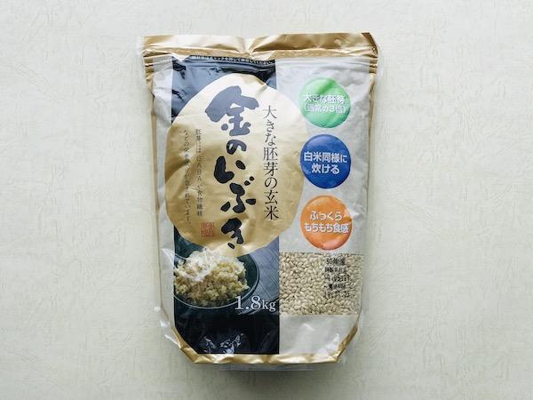 胚芽が3倍で栄養豊富!白米感覚で炊ける高機能玄米『金のいぶき』を食べてみた