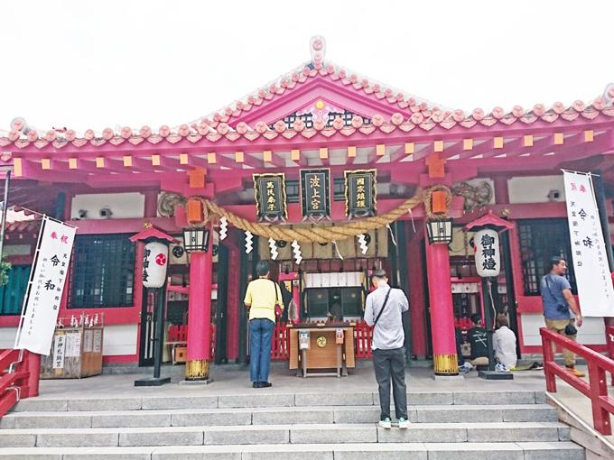 社殿の写真