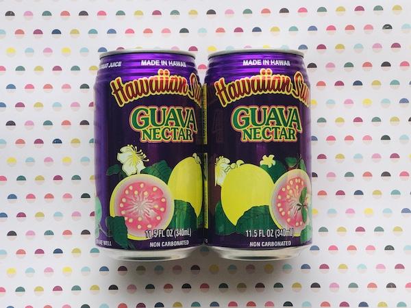 ハワイアンサンのグアバジュース