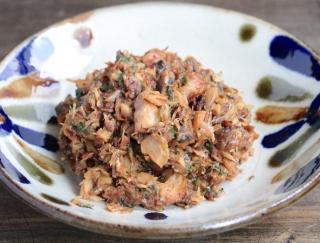 副菜におすすめ!エダジュンの「さば缶の大葉肉みそ」#缶詰レシピ