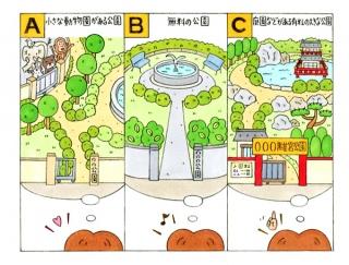 【心理テスト】ひとりで行くならどんな公園に行く?