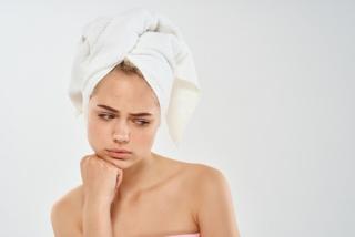 入浴時に悩みのある女性