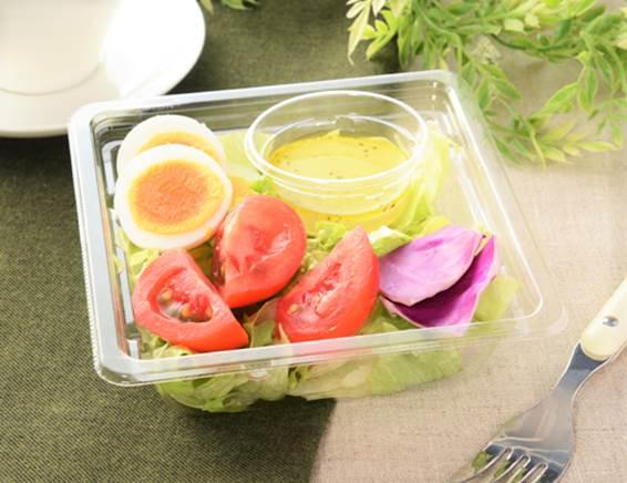「高リコピントマトとたまごのサラダ」の画像