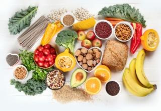 食物繊維を含む食材など画像