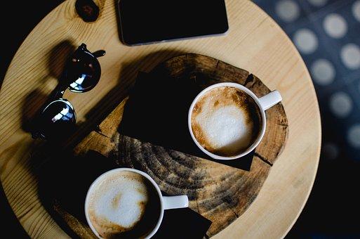 コーヒーとサングラス
