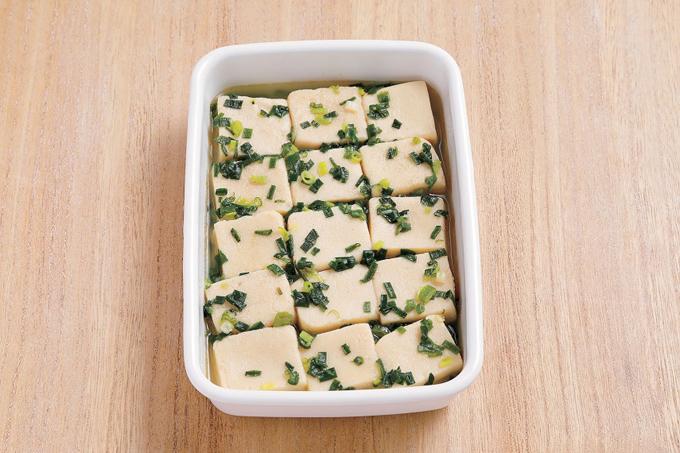 小屋豆腐のスープ煮
