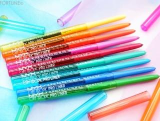 《NYX(ニックス)》夏を感じさせるカラーアイライナー「オフトロピック プロ ライナー」が発売中!カラフルな全9色のラインナップを編集部がレビュー