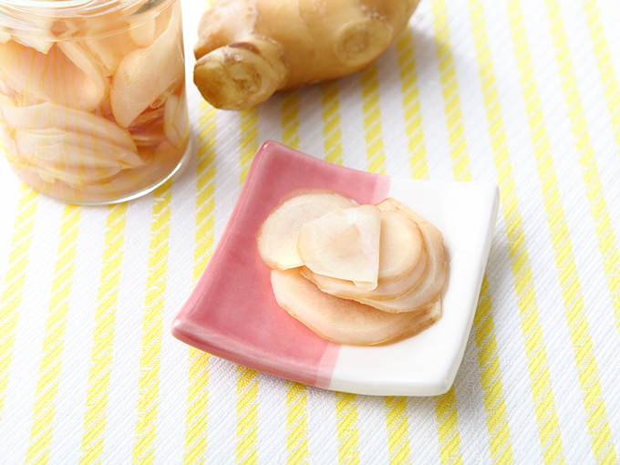 酢しょうがの写真