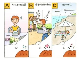 【心理テスト】夏休みと聞いて、あなたが真っ先の思い浮かべるのは?