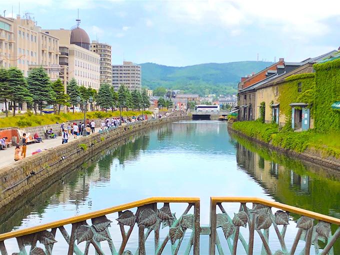 小樽運河沿いのイメージ画像top