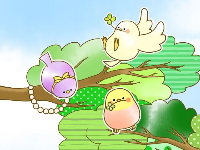 3匹の小鳥