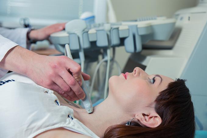 甲状腺の病気の診察