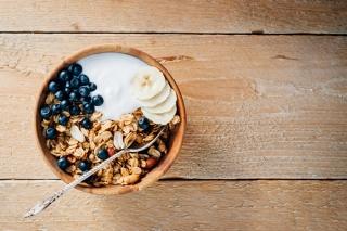 朝食のシリアル