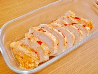 ピリ辛手作りサラダチキン