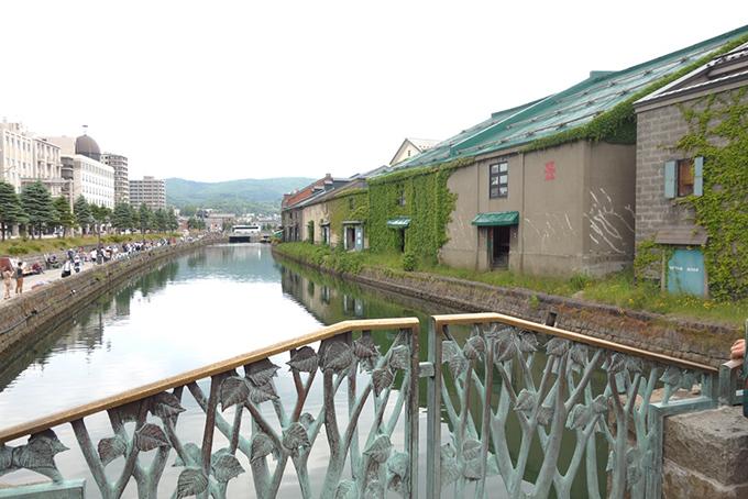 小樽運河沿いのイメージ画像