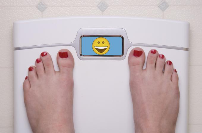 減量に成功した女性