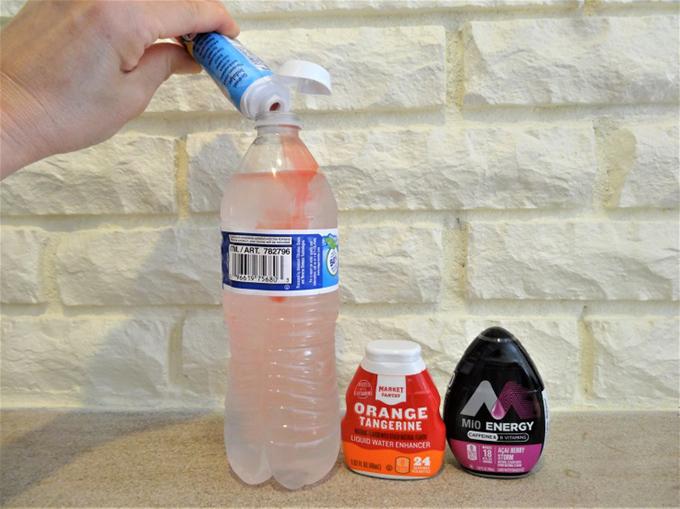 ボトル一本にワンプッシュすると、24本分も作れます