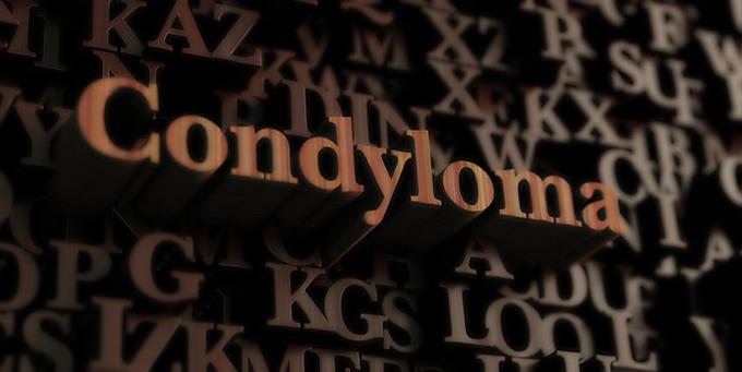 コンジローマの文字
