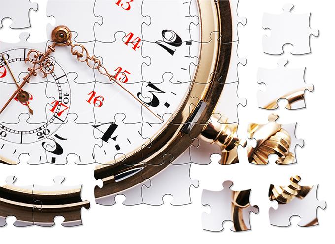時計のパズル