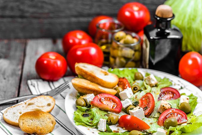 健康によい地中海食