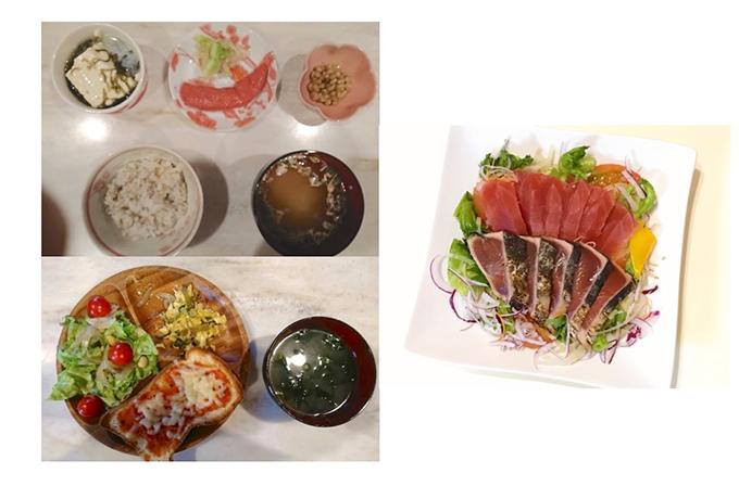 丸田先生と松村先生のおすすめ食事