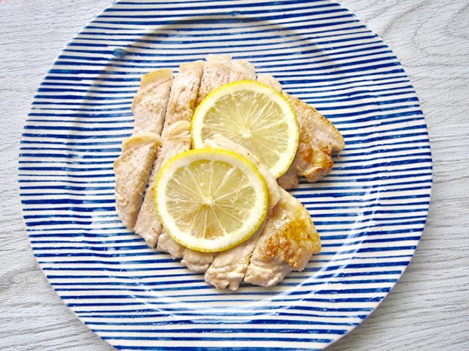 レモンでさっぱり&低糖質!「豚肉の塩バターソテー」#今日の作り置き