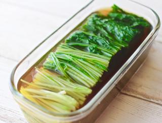 切って漬けるだけ! 超簡単副菜! 「水菜のだしびたし」#今日の作り置き