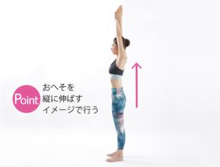 姿勢を直せば筋トレよりやせる! 1日50秒でできる「タテ伸びモーション」