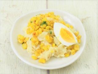 バターしょうゆの味わいがどこか懐かしい♡ 素材のよさを引き出したナチュラルローソンの「北海道産ポテトと焼とうもろこしのサラダ」