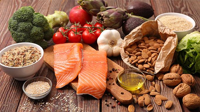 健康に役立つさまざまな食材