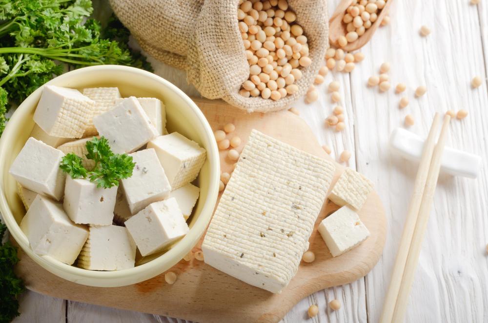 豆腐など植物性のプロテイン