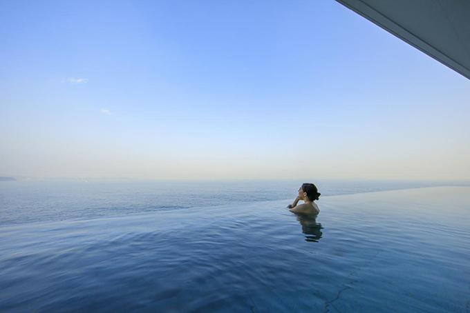 海沿いの絶景露天風呂