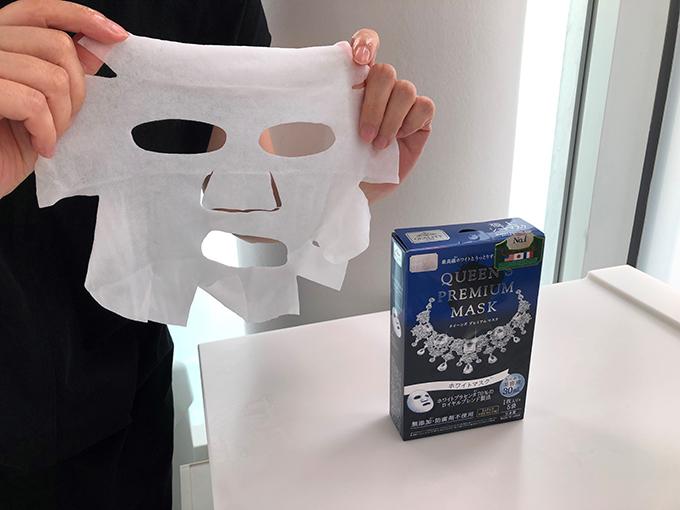 クイーンプレミアムマスク ホワイトマスク
