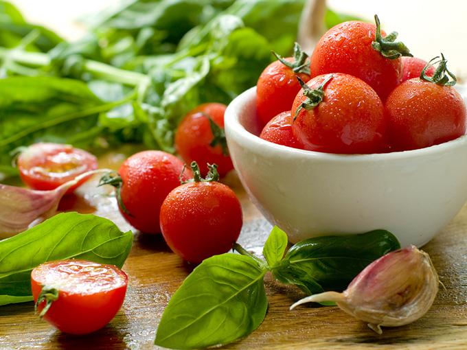新鮮なプチトマトのイメージ画像