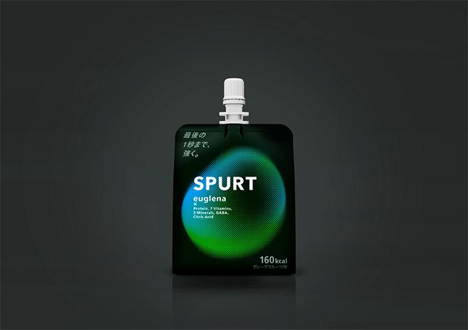 ユーグレナのスポーツ用ゼリー飲料「SPURT」