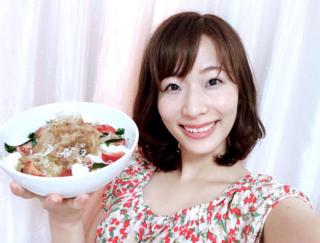 たくさん食べても罪悪感ゼロ♡ 女優さんが作るヘルシーサラダレシピ