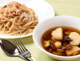 [ドライトマトの簡単レシピ]うまみあふれるスープとパスタ2選