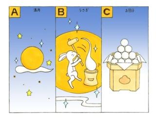 【心理テスト】中秋の名月。あなたが思い出すのは何?