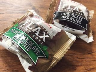 チョコミン党も必見! たんぱく質や食物繊維がとれるブラウニーをコンビニでゲット! #Omezaトーク
