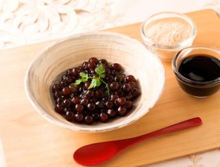 タピオカスイーツ! 料理研究家が教える、アンチエイジングに効果的な「きな粉黒蜜タピオカ」