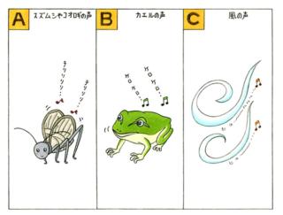 【心理テスト】秋の夜長に虫の声が聞こえてきました。その虫は次のうちどれ?